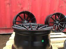 19 x4 Alloy Wheel Turismo satin black 8.5J 5x112 wheels and tyres