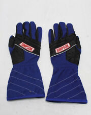 SIMPSON RACING GLOVES Undercover Nomex Double Layer BLUE SFI 3.3/5 Medium  M NEW