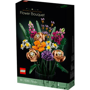 Lego 10280 Flower Bouquet Botanical Collection Building Set Toy Gift Ages 18+