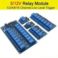 1-16 Channel 5V/12V Relay Module Board For Arduino Raspberry Pi ARM AVR DSP PIC