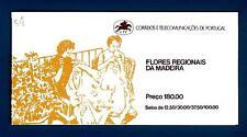 PORTUGAL MADEIRA - Libretto - 1983 - Flora locale. III serie - 180e.
