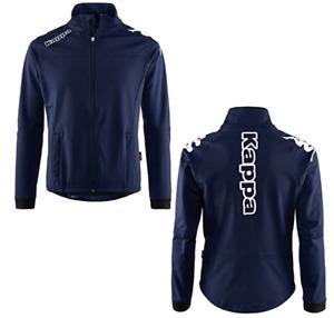 Kappa Jacket Men's Embroidered Full Zip Through Jacket - Navy - New