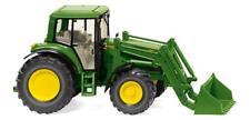 WIKING 039338 John Deere 6920 S con Pala Cargadora, Tractor Modelo 1:87 (H0)