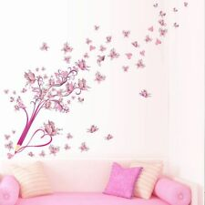 Wall Sticker Home Decal Mural Flower Blossom Removable Living Room Decoration