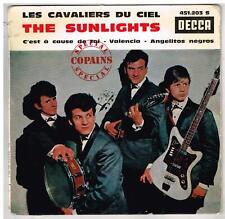 """The SUNLIGHTS    Les cavaliers du ciel    7"""" EP 45 tours"""