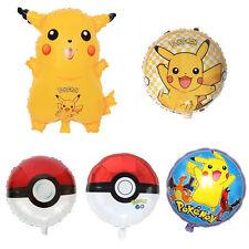 Pokemon Go Pikachu Helium Ball Foil Balloon Celebration Party Birthday Pokemon