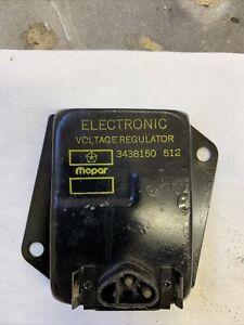Mopar 1970 71 72 -1974 A,B,C,E body voltage regulator 3438150 NOS date code 512