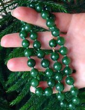 14k gold Nephrite Jade necklace