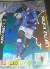 limited edition adrenalyn xl euro 2012 MARIO BALOTELLI  cards new italia