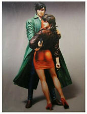 Ryo and Saeko City Hunter Rare Anime 1/6 Unpainted Figure Model Resin Kit