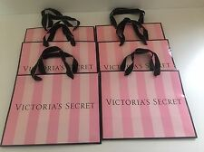 Lot Of 6 Authentic VICTORIA'S SECRET Paper Shopping Gift Bags 11x 9 x 5 VS6
