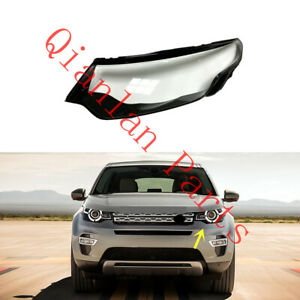 Left Side Clear Headlight Cover + Glue For Land Rover Discovery Sport 2015-19