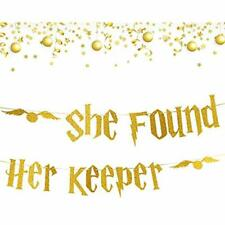 Gold Glitter Banners & Garlands Bachelorette Party Decorations - Bridal Shower
