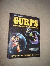 Steve Jackson's GURPS Basic Set Third Edition Roleplaying Game Hardcover