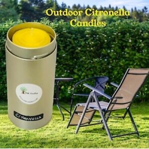 Citronella Outdoor Candle (Tin w/ Lid).