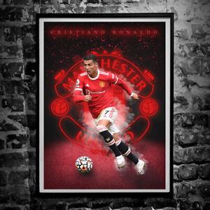 Cristiano Ronaldo Poster - Manchester United A4 & A3