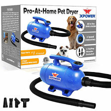 XPower Home Pro 2-in-1 Pet Grooming Force Dryer and Vacuum Dog Wash 2.0 HP New