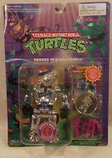 Teenage Mutant Ninja Turtles Robotic Bebop Purple Weapons w/Card & Coin (MOC)