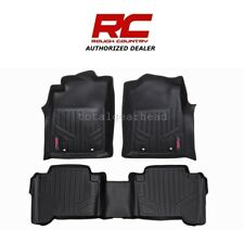2007-11 Toyota Tundra Double Cab Rough Country Fitted Floor Mats - SET [M-70713]