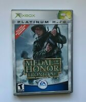 Medal of Honor: Frontline - Original Xbox Game -Tested