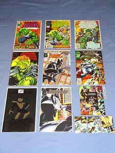 The Savage Dragon Mini Series 1 2 3 Shadowhawk II 1 2 3 4 1993 1994 Erik Larsen