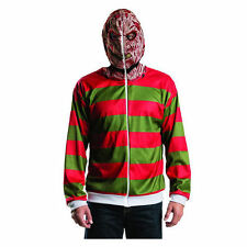 Nightmare on Elm Street Hooded Sweater Freddy Krueger costume Zip-Up Hoodie XS