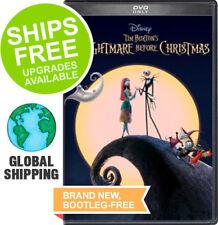 Nightmare Before Christmas (25th Anniversary DVD,1993) NEW, Tim Burton, Disney