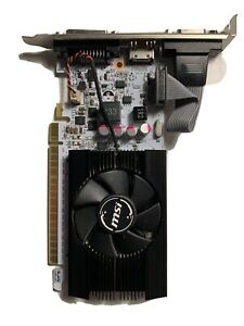 MSI GeForce GT 730 2 GB GDDR5 Graphics Card