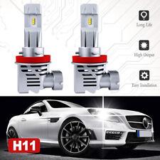 2x H11 H9 H8 LED Headlight Bulbs Kit Low Beam Fog Light 120W 6500K 24000LM White