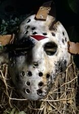 😈 JASON VOORHEES Jason Goes To Hell Masque de hockey, jaystead 79,DVD, 😈