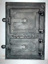 Cast Iron Fire Door Clay Bread Oven Pizza Stove Quality Silver (PW) 39 x 27