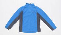 Mountain Warehouse Boys Blue Zip Up Fleece Age 7-8 Years