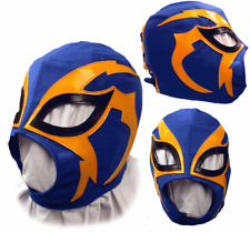 Kids Shocker Blue Lucha Libre Pro Wrestling Mask CMLL