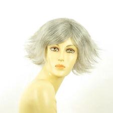 Perruque femme grise cheveux lisses ref  AMBRE 51