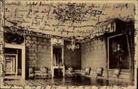 Ansbach Bayern 1936 Schloss Residenz Partie Audienz-Zimmer des Markgrafen Graf