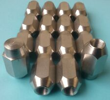 Wheel Nuts set of 16 Stainless Steel 3/8 UNF 60° Taper Mini P2366