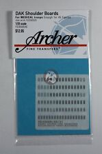 Archer 1/35 Afrika Korps Heer Shoulder Boards for Medical Troops FG35054E