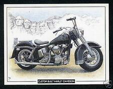 HARLEY-DAVIDSON  Classic Motor Cycles Bikes - Collectors (Trading) Card Set of 6