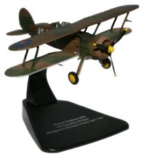 OXFORD 1/72 AC023 GLOSTER GLADIATOR MKII FIGHTER PLANE DIECAST