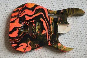 Ibanez  Replacement Swirl Body  - Basswood - AANJ - Fits RG JEM - Jupiter