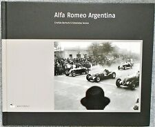 Alfa Romeo Argentina Book Whitefly Bertschi & Iacona Great Book 366 Page Signed