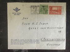 1935 Sydney Australia to Hertogenbosch Netherlands First Flight Cover Ffc Rda