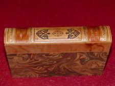 COLLECTION PRESTIGE CLASSIQUES GARNIER Dos cuir / STENDHAL LE ROUGE ET LE NOIR