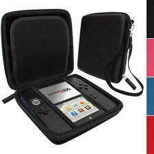 Nero EVA Custodia Protezione Rigida Protettiva Case Cover per Nintendo 2DS