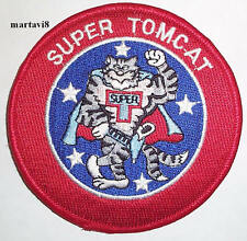 US.Navy F-14 `SUPER TOMCAT` Cloth Badge / Patch (F14-17)
