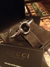 LOVELY WOMANS GUCCI WATCH,MODEL 1400L,STAINLESS STEEL,GUCCI BOX&DOCUMENTS