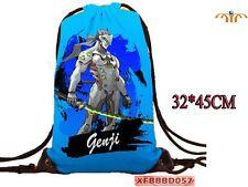 Mochila saco de tela Overwatch Genji