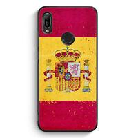 Spanien Grunge Espana Spain Silikon Hülle für Huawei Y6s Motiv Design Cover H...