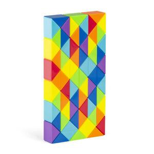 Diansheng 24 36 48 60 72 Sections Magic Snake Variety Magic Ruler Cube Puzzle