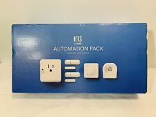 New ListingIris Home Automation Pack Contact Motion Sensor Smart Plug Button - Open Box